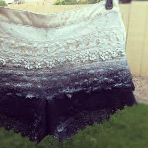 Ombre Lace DIY