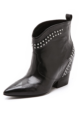 Sigerson Morrison Accent Booties, $480, available at Shopbop.