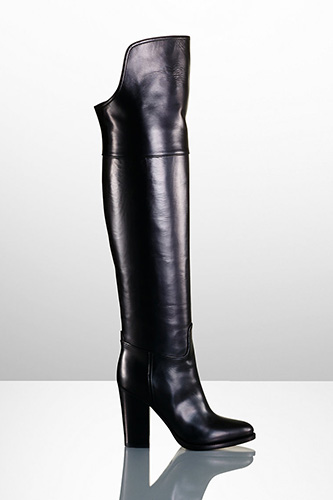 Ralph Lauren Harrah Boot, $1,450, available at Ralph Lauren.
