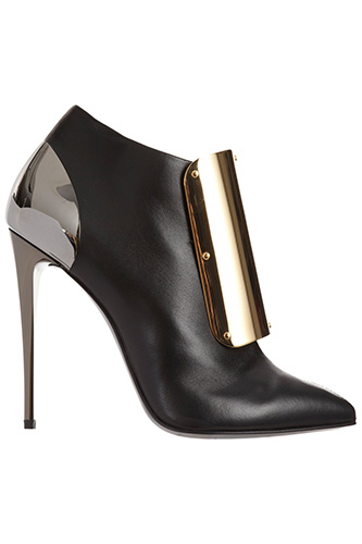 Giuseppe Zanotti Plated Ankle Boot, $1,450, available at Barneys.